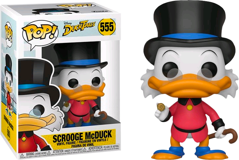 Exclusive DuckTales - Scrooge McDuck in Red Coat Pop! Vinyl Figure