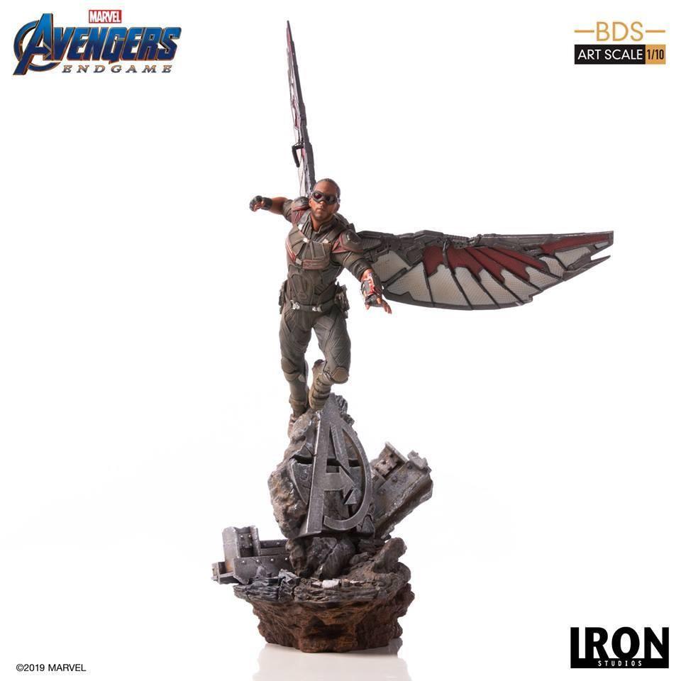 PRE-ORDER Iron Studios Falcon BDS Art Scale 1/10 - Avengers Endgame
