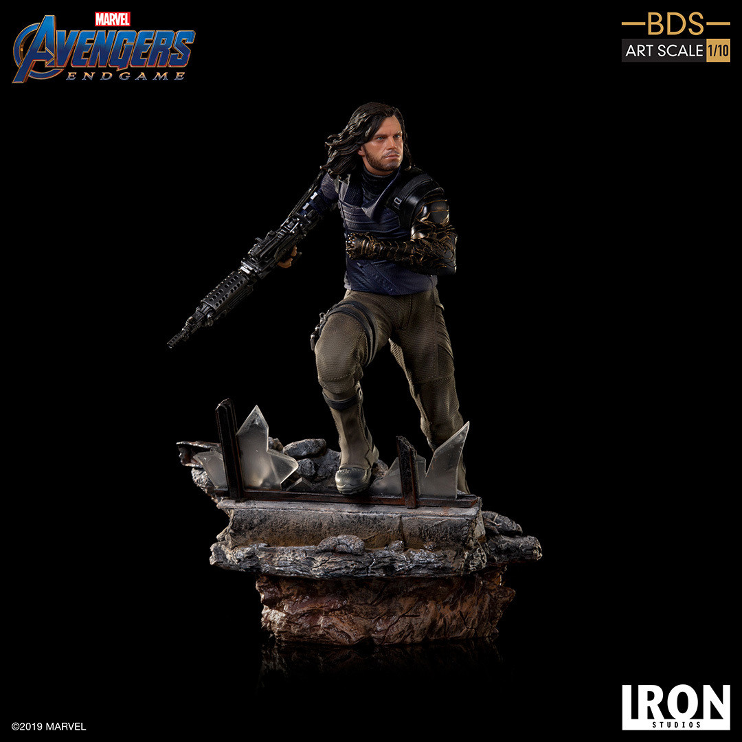 Iron Studios Winter Soldier BDS Art Scale 1/10 - Avengers Endgame