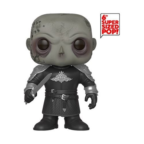 Funko Game of Thrones The Mountain Unmasked 6-Inch Pop! Vinyl Figure