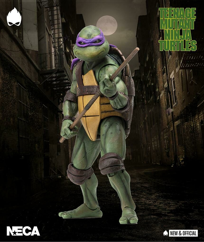 "Teenage Mutant Ninja Turtles – 7"" Scale Action Figure –1990 Movie Donatello (RESTOCK 2021)"