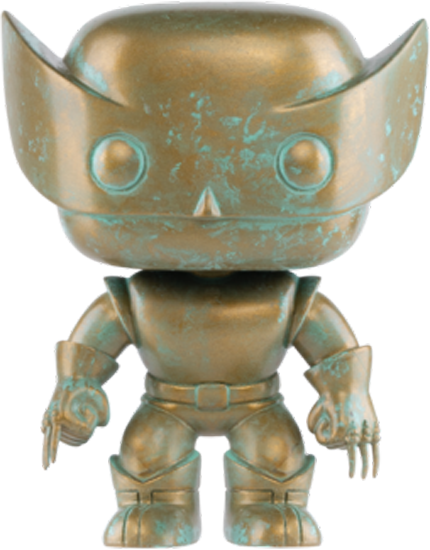 Funko X-Men - Wolverine Patina 80th Anniversary Pop! Vinyl Figure