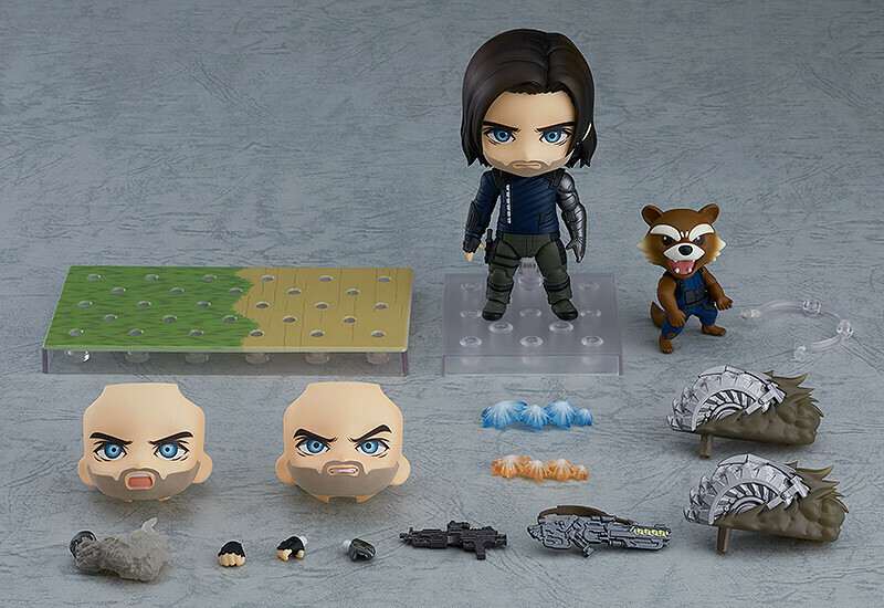 Good Smile Nendoroid Winter Soldier: Infinity Edition DX Ver.