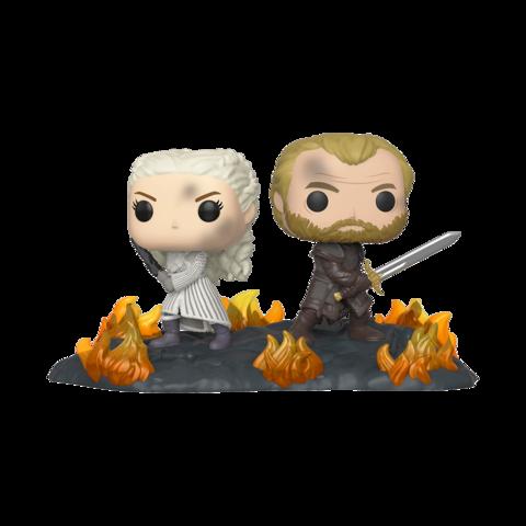 Game of Thrones Daenerys and Jorah with Swords Pop! Vinyl Moment