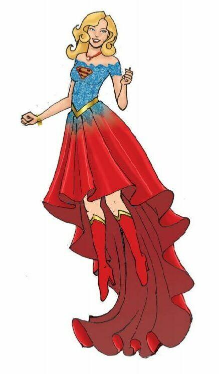 Enesco DCCOM Couture de Force Super Girl