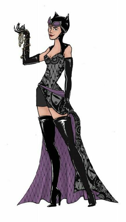 Enesco DCCOM Couture de Force Catwoman