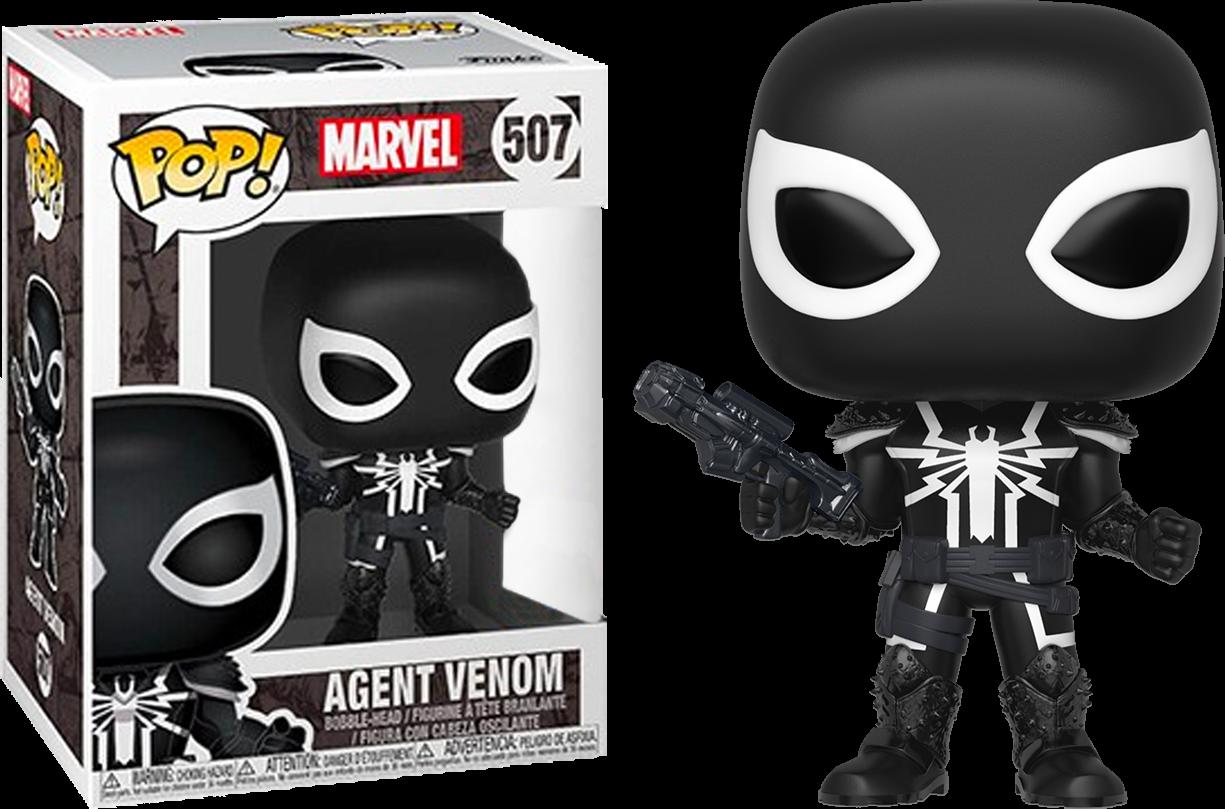 Funko Spider-Man - Agent Venom Pop! Vinyl Figure
