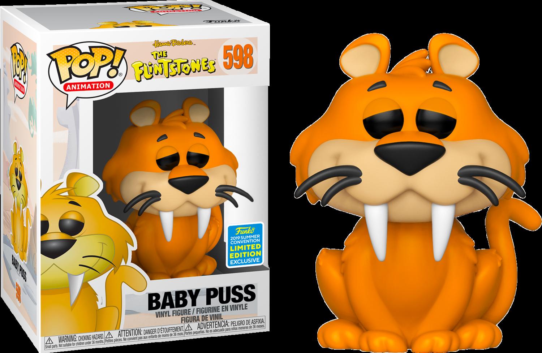 PRE-ORDER The Flintstones - Baby Puss Pop! Vinyl Figure (2019 Summer Convention Exclusive)
