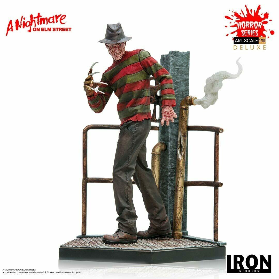 Iron Studios Freddy Krueger Deluxe Art Scale 1/10 - A Nightmare on Elm Street