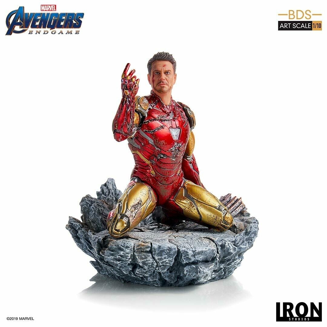 Iron Studios I am Iron Man BDS Art Scale 1/10 - Avengers Endgame