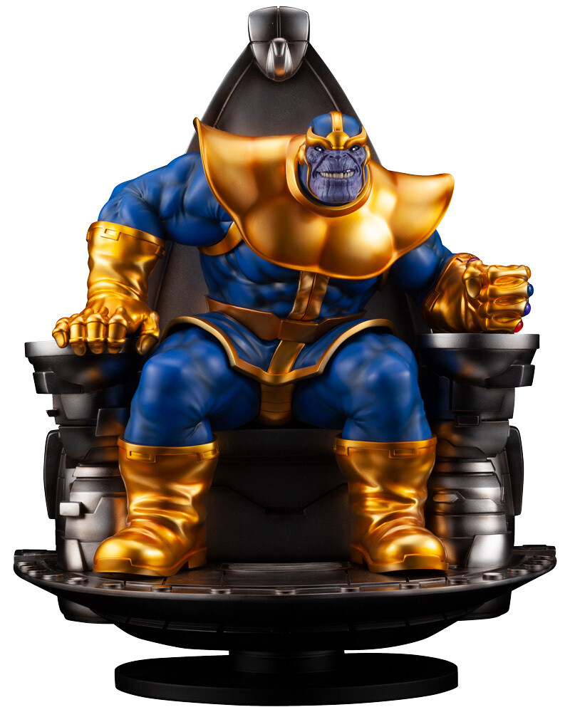 Thanos on Space Throne Fine Art Statue