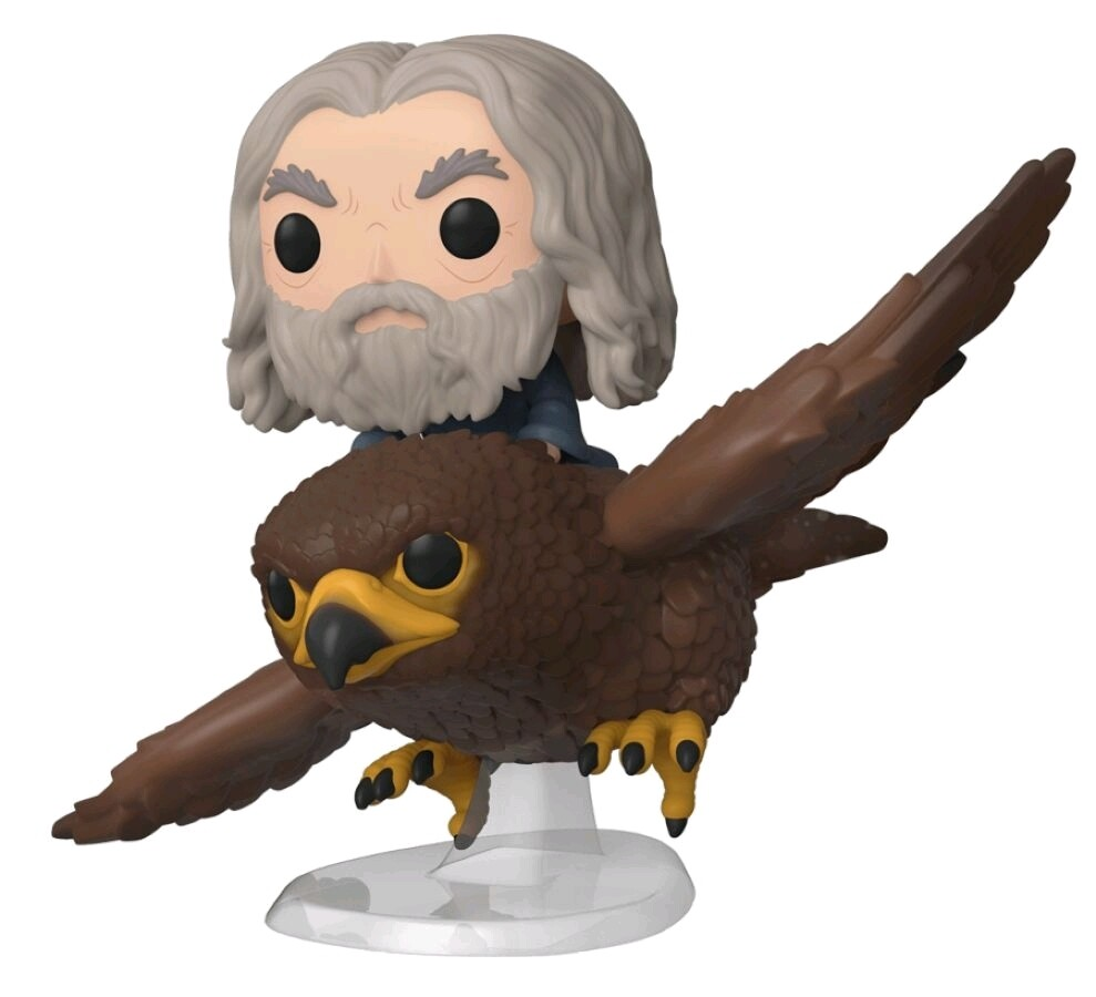 Funko The Lord of the Rings - Gandalf with Gwahir Pop! Ride