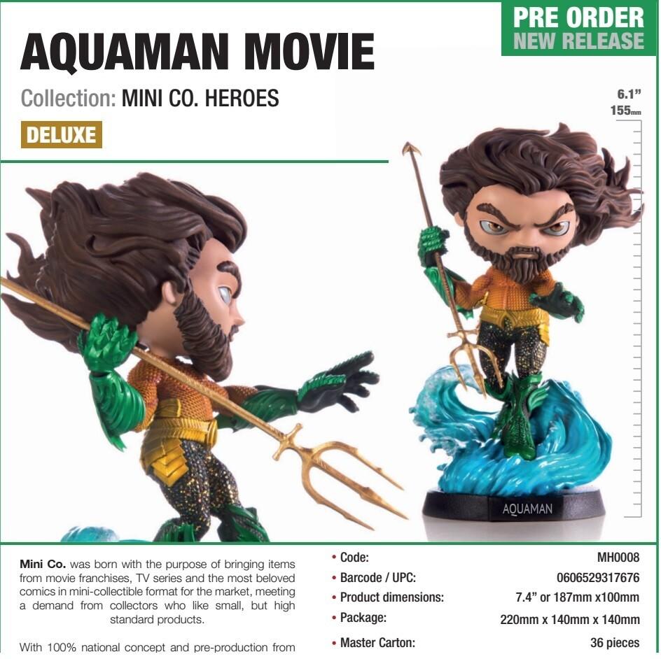 Iron Studios Mini Co. Heroes - Aquaman Movie Deluxe