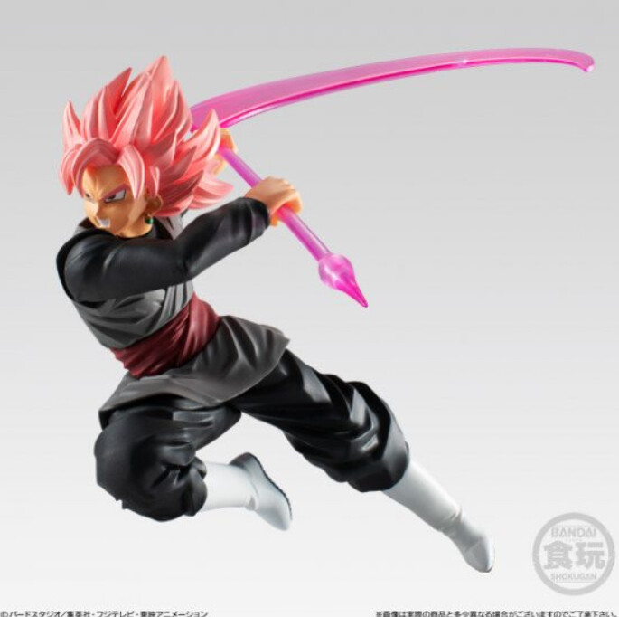 PRE-ORDE DB Super Styling Goku Black Rose