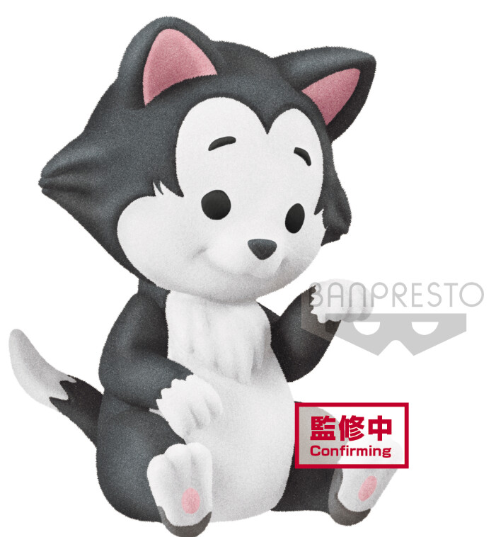 PRE-ORDER Disney Character Cutte! Fluffy Puffy - Figaro