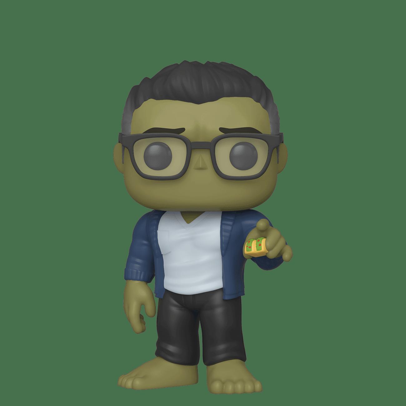 Funko Marvel - Endgame Hulk with Taco Funko Pop! Figure