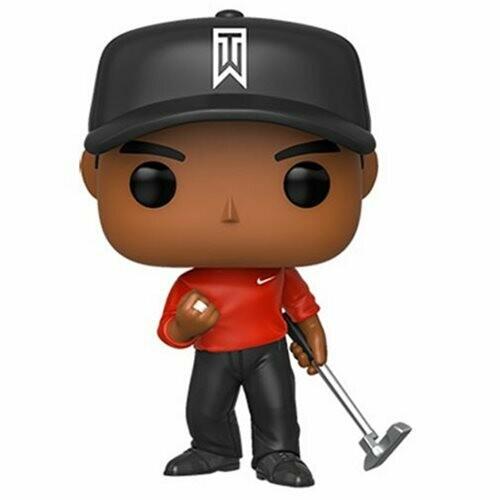 Funko Tiger Woods Red Shirt Pop! Vinyl Figure