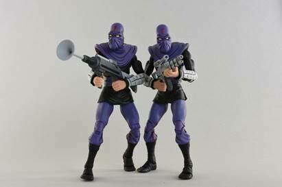 """Neca Teenage Mutant Ninja Turtles – 7"""" Scale Action Figure – Cartoon Series 2 Foot Soldier """"Army Builder"""" 2 pack"""