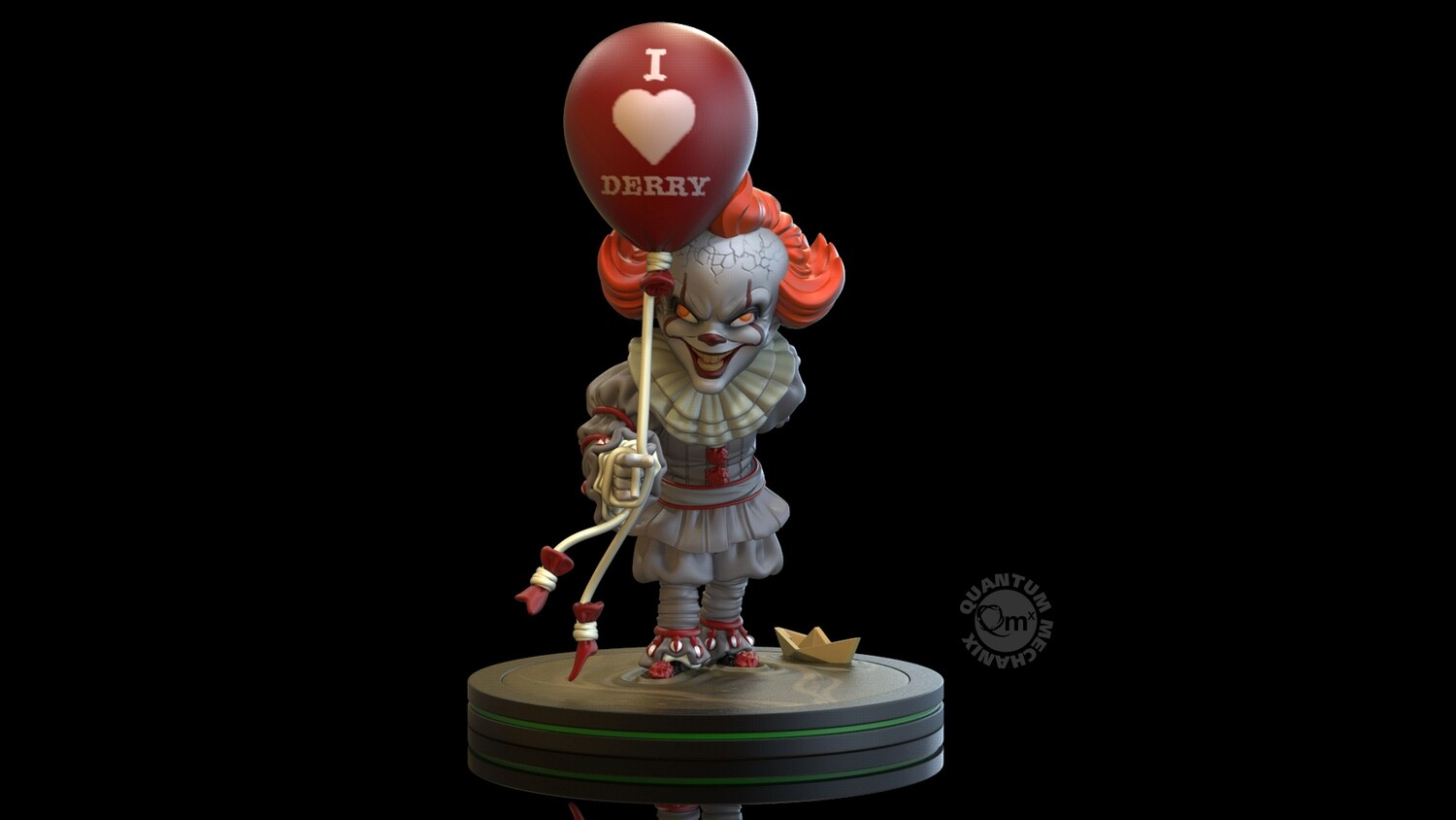 """PRE-ORDER QMx Pennywise """"I Heart Derry"""" Q-Fig"""