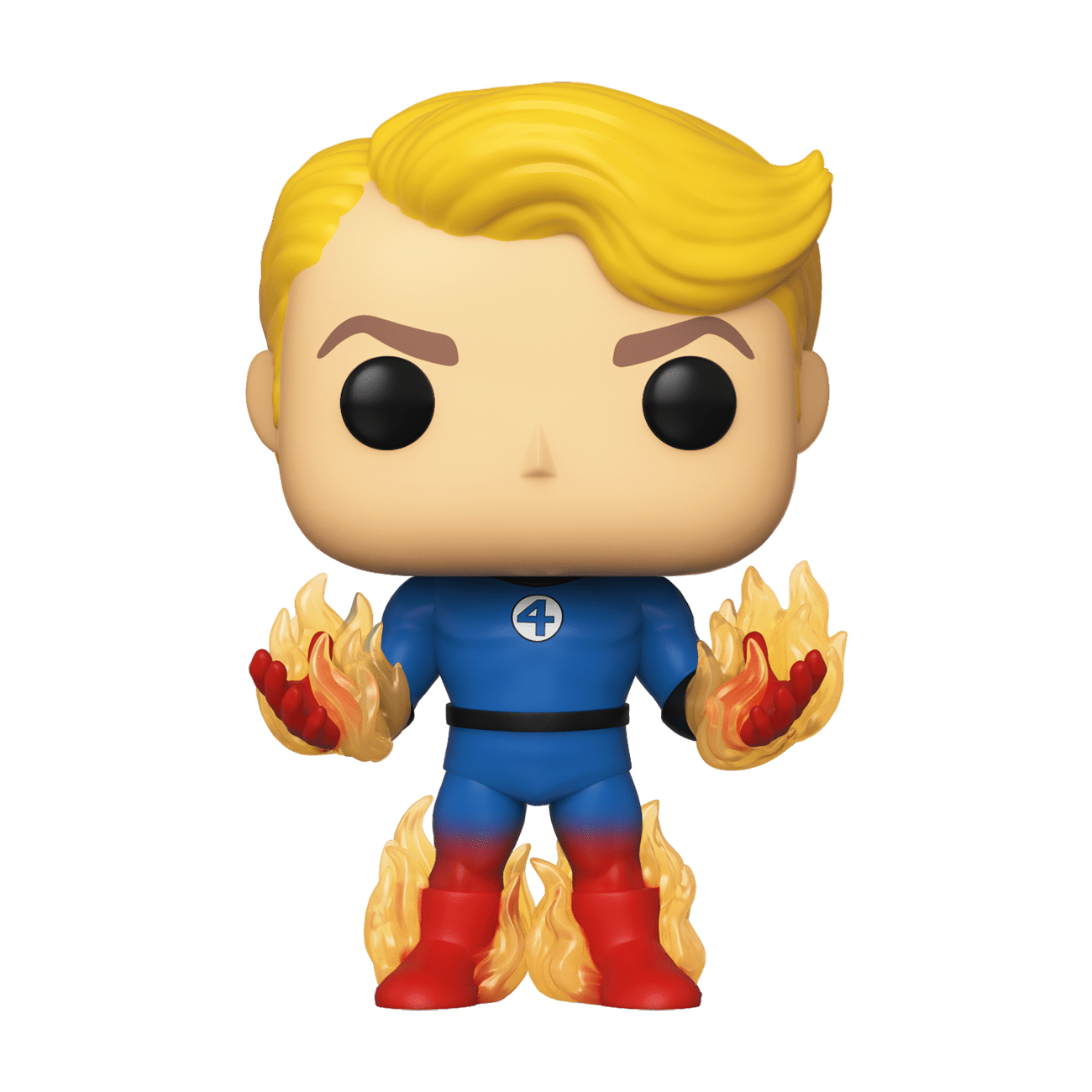 Funko Marvel Fantastic Four Human Torch with Flames Exclusive Pop! Vinyl Figure