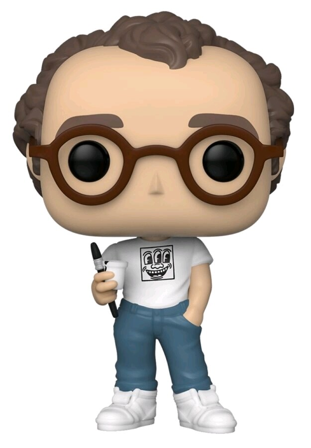 POP Icons - Keith Harring Fall Convention Exclusive Pop! Vinyl Figure