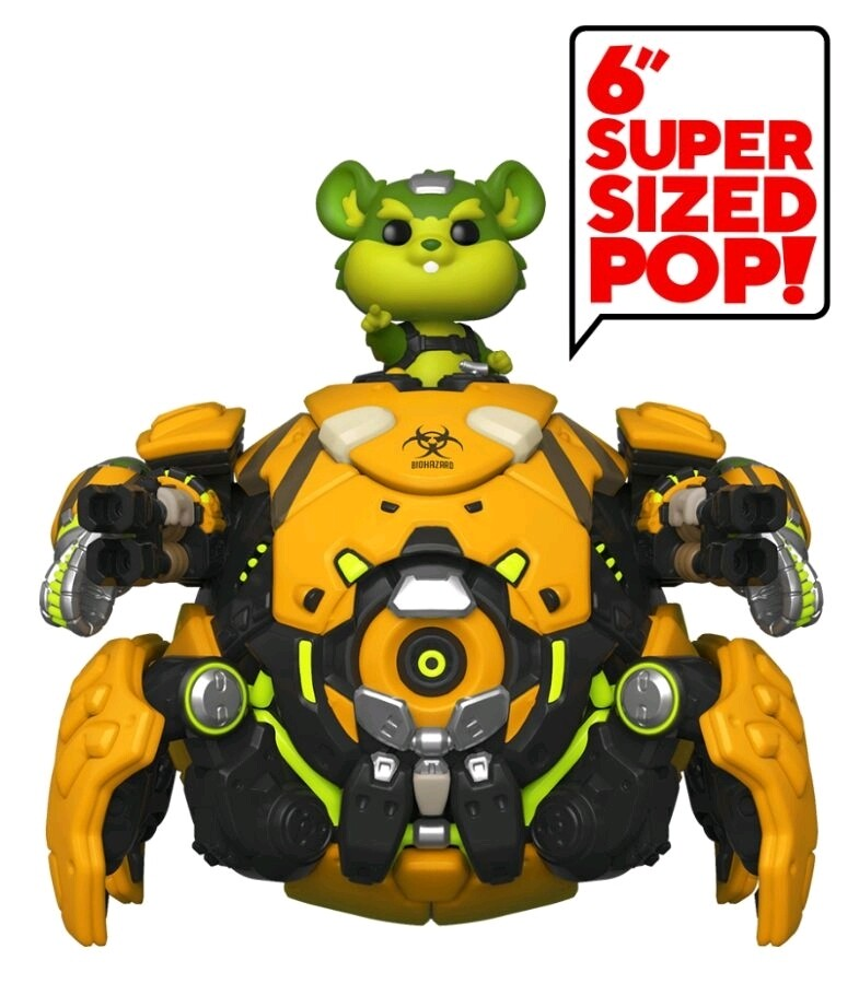 "Overwatch - Toxic Wrecking Ball Fall Convention Exclusive 6"" Pop! Vinyl Figure"