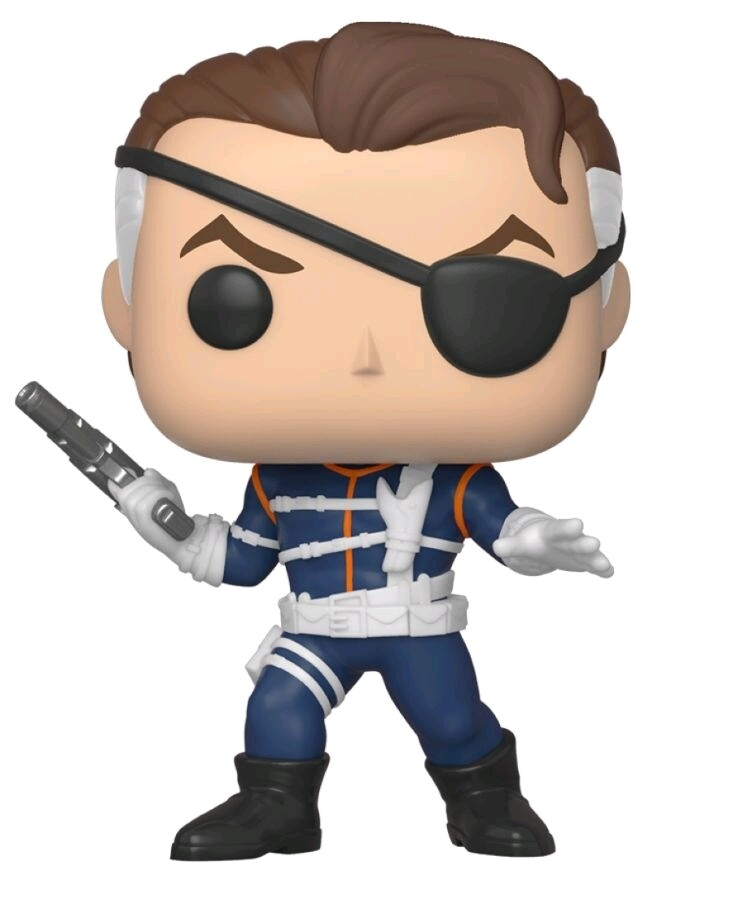 Funko Marvel - Nick Fury 1st Appearance Fall Convention Exclusive Pop! Vinyl Figure