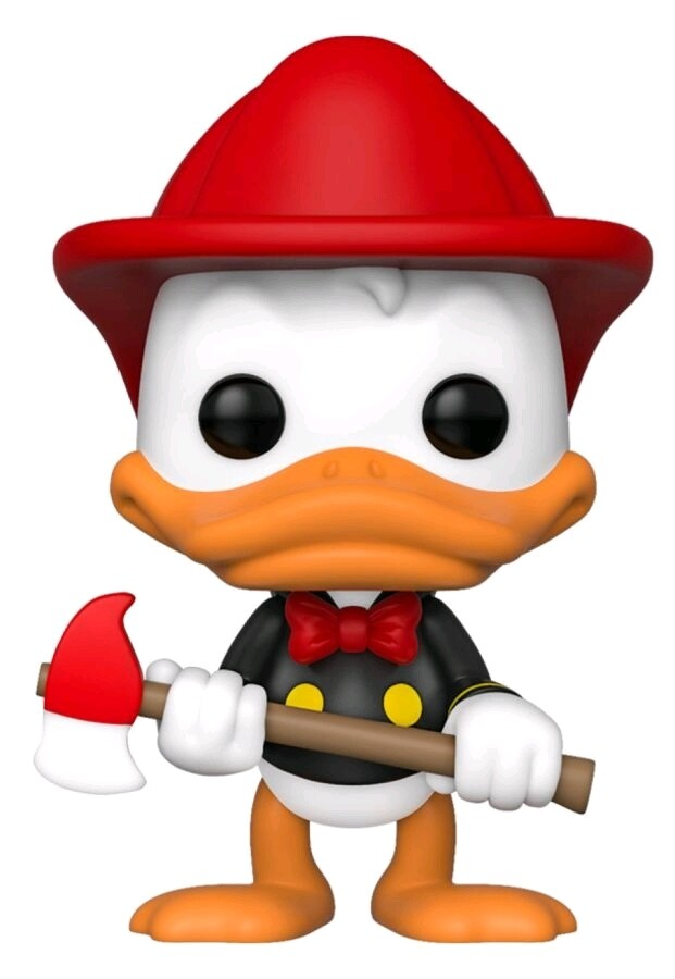 Funko Mickey Mouse - Donald Firefighter Fall Convention Exclusive 2019 Pop! Vinyl Figure