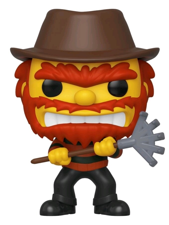 Funko Simpsons - Evil Groundskeeper Willie Fall Convention Exclusive Pop! Vinyl Figure