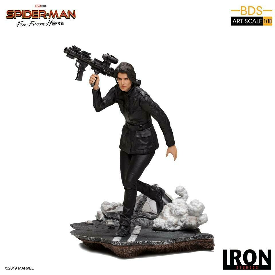 PRE-ORDER Iron Studios Maria Hill BDS Art Scale 1/10 - Spider Man Far From Home
