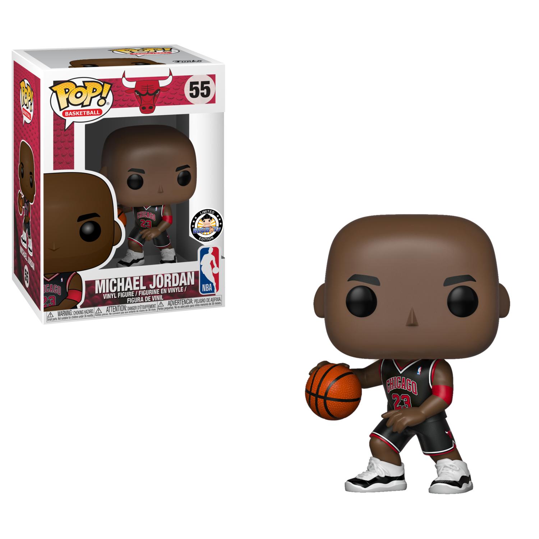Funko NBA Basketball - Michael Jordan Chicago Bulls Black Uniform Pop! Vinyl Figure