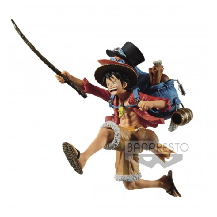 PRE-ORDER OP THREE BROTHERS FIGURE (A:MONKEY.D.LUFFY)