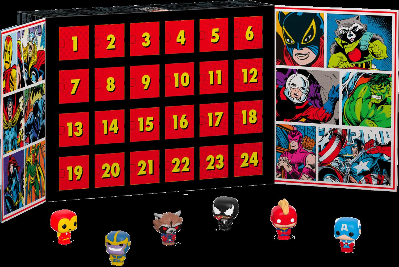 Marvel - Pocket Pop! Vinyl Advent Calendar
