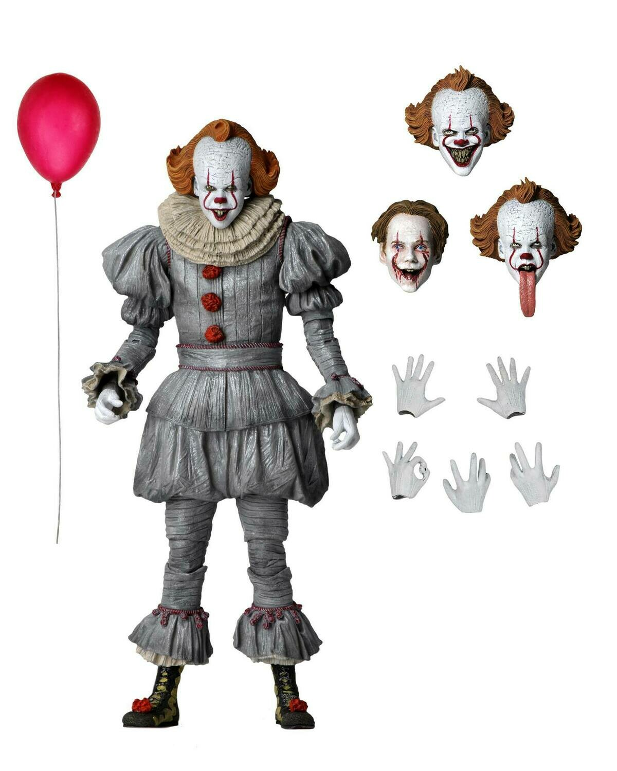 """Neca IT Chapter 2 - 7"""" Scale Action Figure - Ultimate Pennywise (2019 Movie)"""
