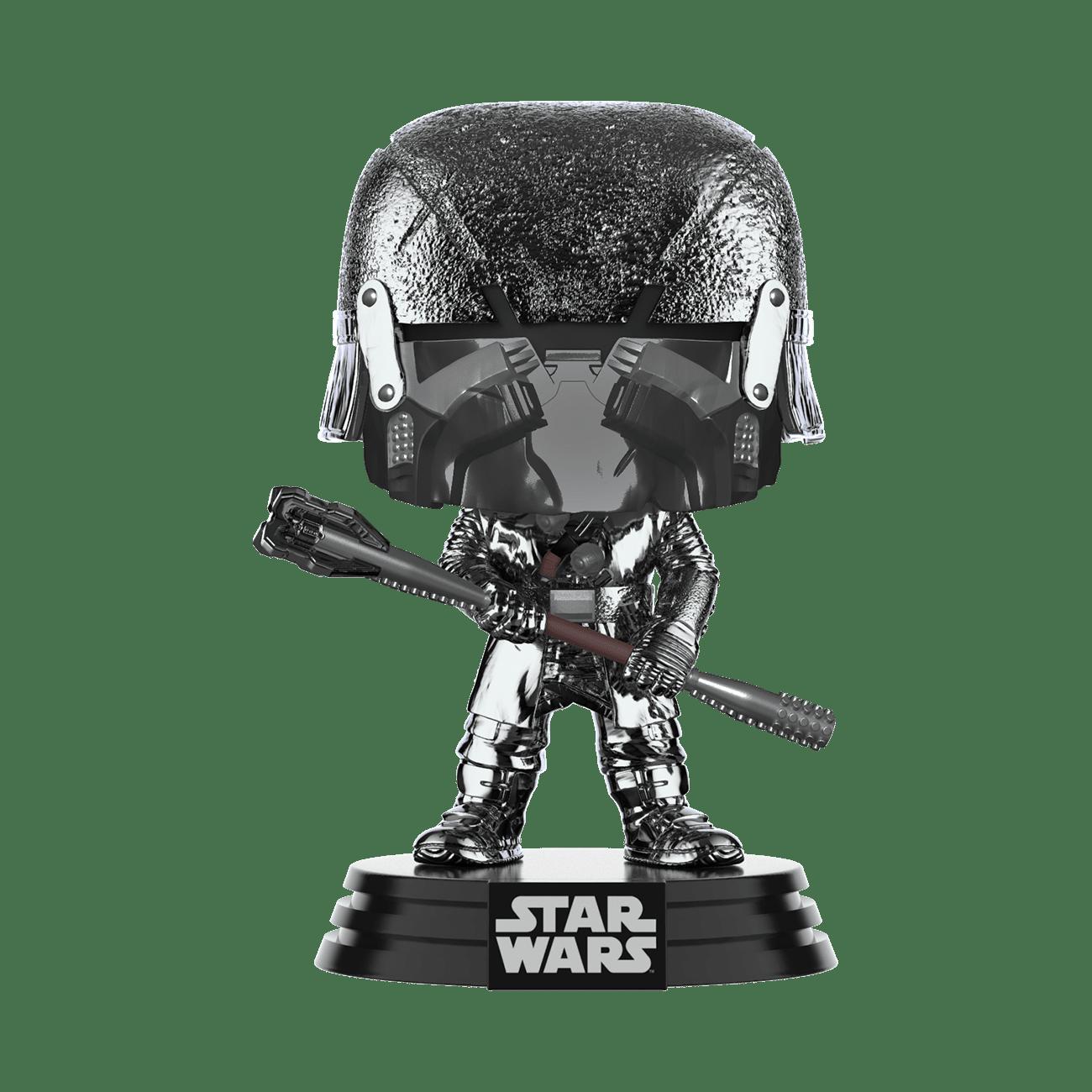 Star Wars: The Rise of Skywalker Hematite Chrome Knight of Ren Club Pop! Vinyl Figure