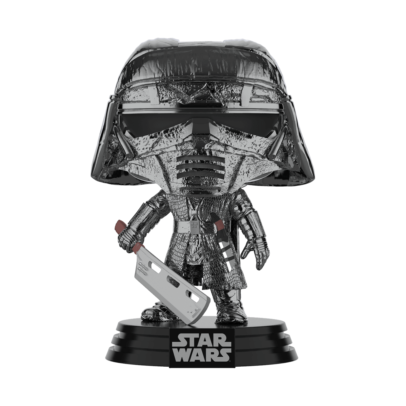 Star Wars: The Rise of Skywalker Hematite Chrome Knight of Ren Blade Pop! Vinyl Figure