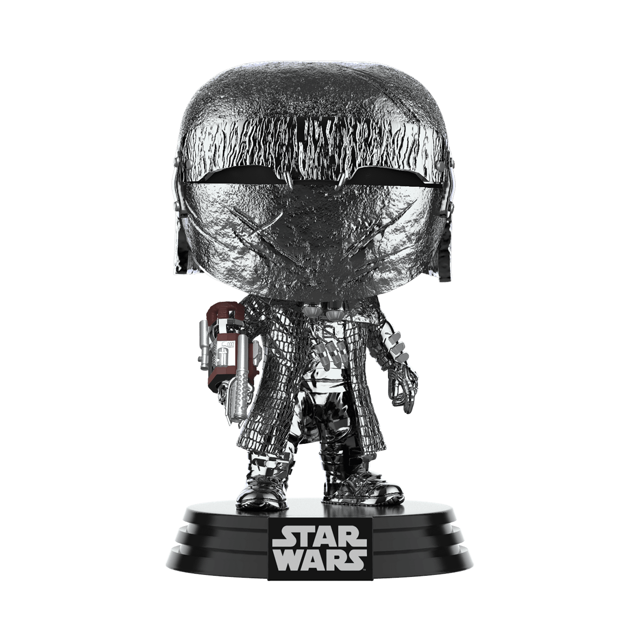 Star Wars: The Rise of Skywalker Hematite Chrome Knight of Ren Cannon Pop! Vinyl Figure