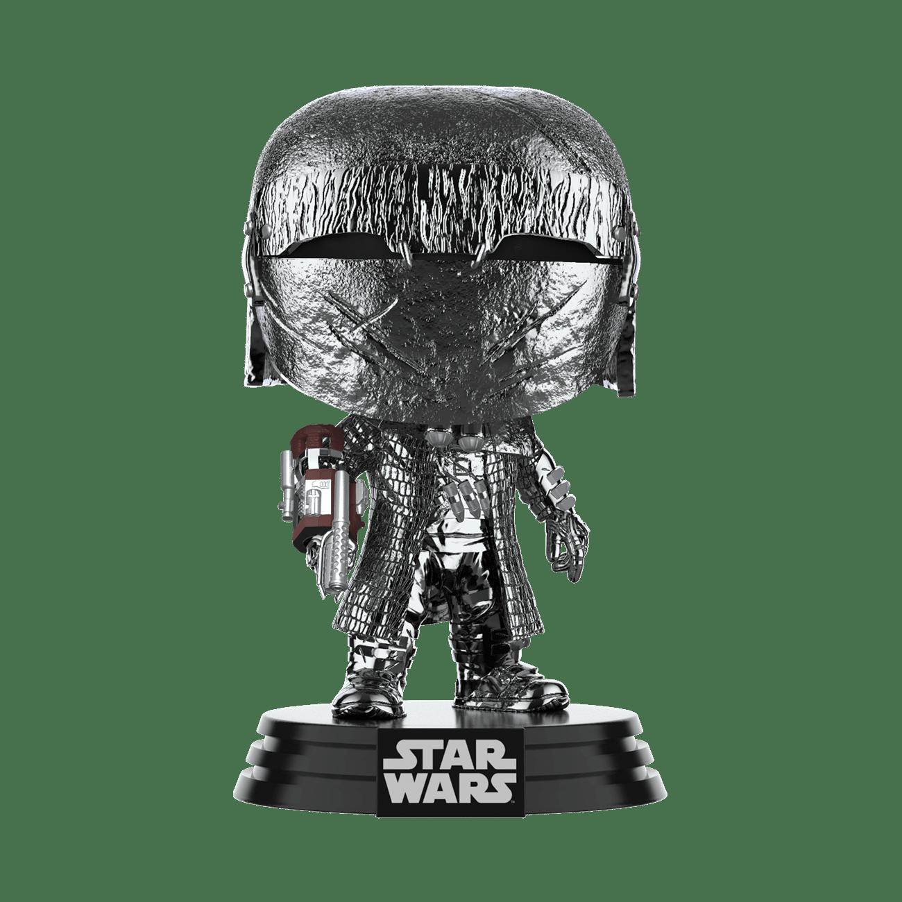 Funko Star Wars: The Rise of Skywalker Hematite Chrome Knight of Ren Cannon Pop! Vinyl Figure