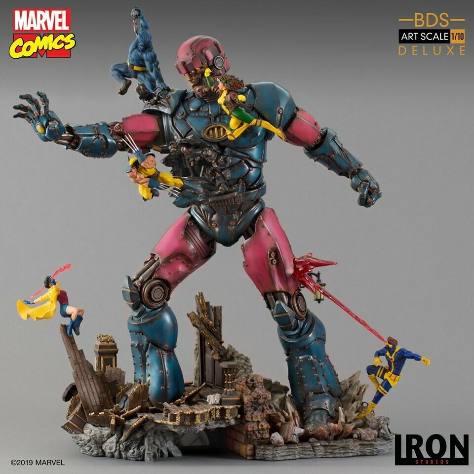 Iron Studios X-Men Vs Sentinel #1 Deluxe BDS Art Scale 1/10 - Marvel Comics