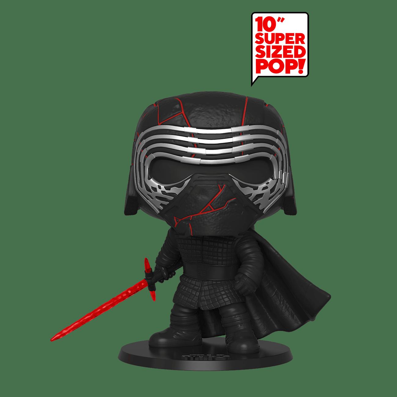 """Star Wars Episode IX: The Rise Of Skywalker - Kylo Ren Glow in the Dark 10"""" Pop! Vinyl Figure"""