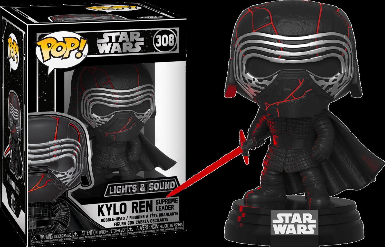 Funko Star Wars Episode IX: The Rise Of Skywalker - Kylo Ren Light Up & Sound Electronic Pop! Vinyl Figure