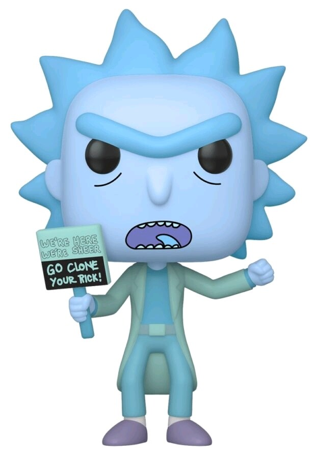 Rick and Morty - Hologram Rick (Clone) Pop! Vinyl