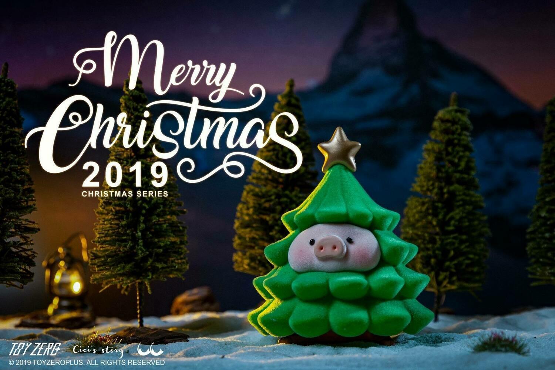 Lulu Christmas Set of 4 (Background Included)