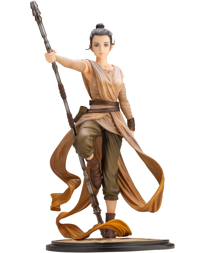 STAR WARS Artist Series Rey Descendant of Light ARTFX