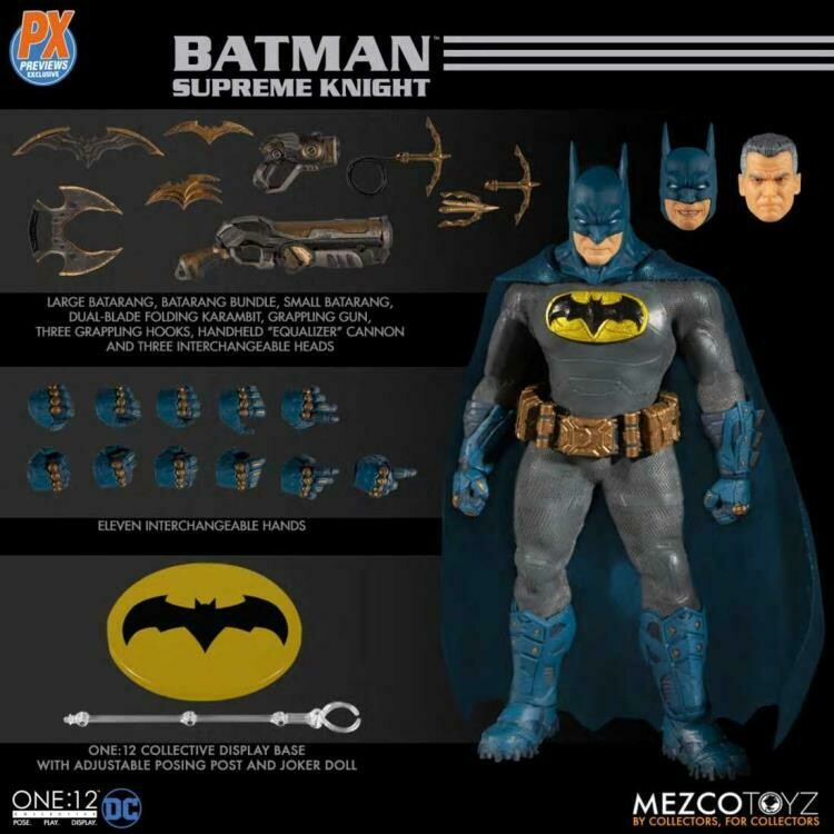 PRE-ORDER Mezco DC Comics One:12 Collective Batman (Supreme Knight) PX Previews Exclusive