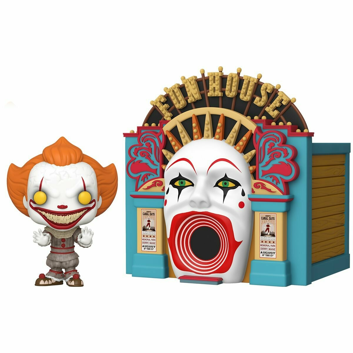Funko IT 2 Demonic Pennywise with Funhouse Pop! Town
