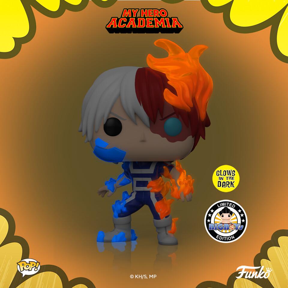 Funko My Hero Academia - Todoroki Glow in the Dark Big Boys Toy Store Exclusive Pop! Vinyl Figure