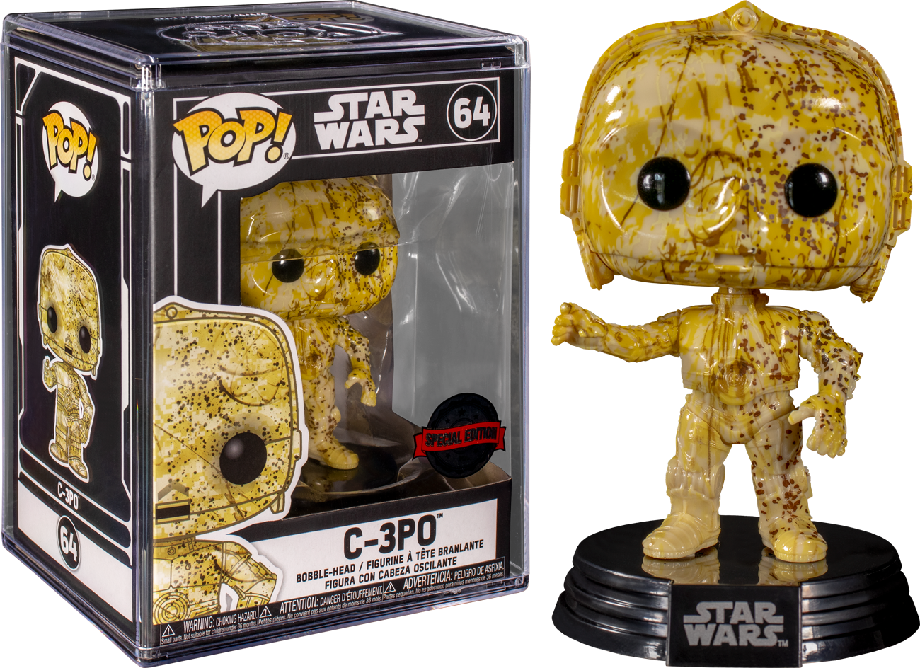 Funko Star Wars - C-3PO Futura Exclusive Pop! Vinyl Figure
