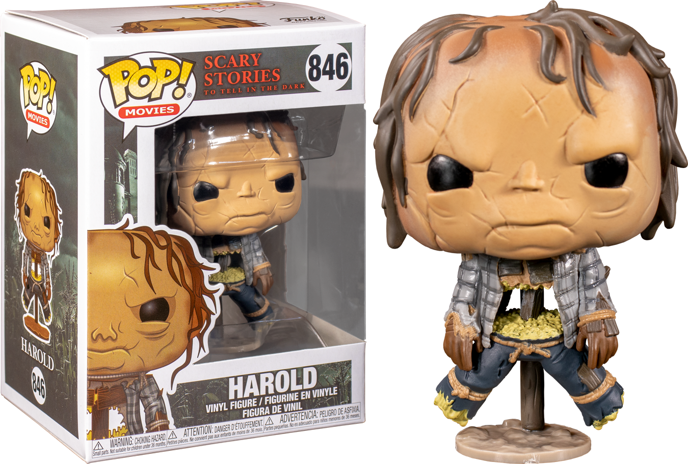 Funko Scary Stories To Tell In The Dark - Harold the Scarecrow Pop! Vinyl Figure