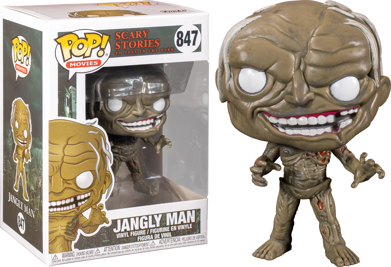 Funko Scary Stories To Tell In The Dark - Jangly Man Pop! Vinyl Figure